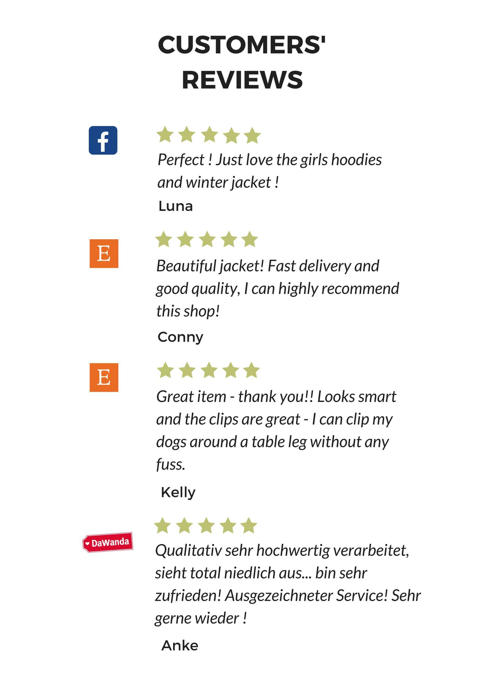 Pawpawpaw Custmers' Reviews